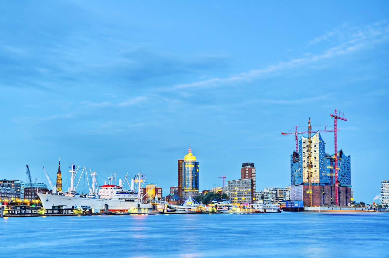 Hamburger Hafen West
