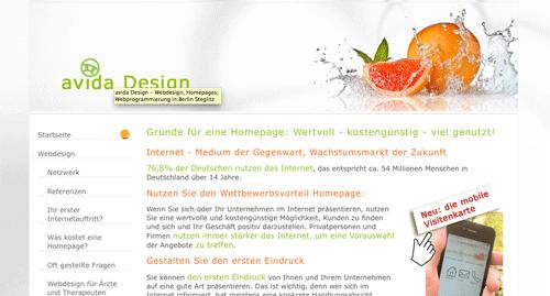 Homepages Berlin Steglitz