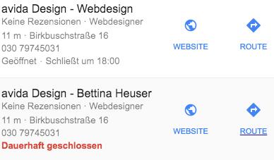 Doppelte Einträge Google Maps Dauerhaft Aus Suchergebnissen Löschen