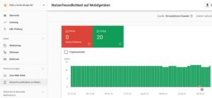 Google Search Console: Nutzerfreundlichkeit auf Mobil-Geräten
